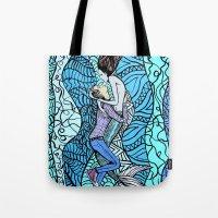 Jonathon & the Mermaid Tote Bag