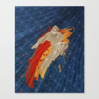 Fly (Homage To T. Hawk) Canvas Print
