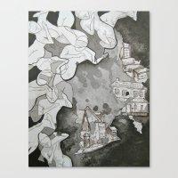 A Bad Place  Canvas Print