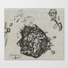 Microcosm of a Kingdom Canvas Print