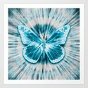 Rising Butterfly Art Print