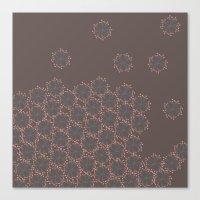 Natural Kaleidoscope Canvas Print