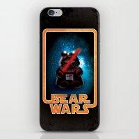 Bear Wars - Darth Teddy iPhone & iPod Skin