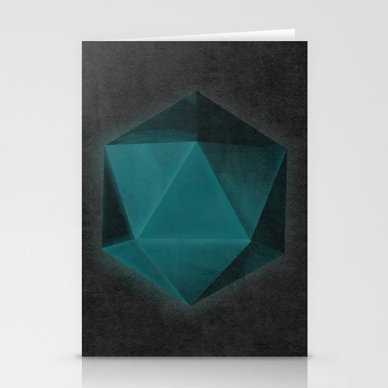 spatial geometry Stationery Card