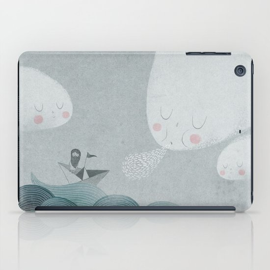 Blowing by the Wind iPad Case