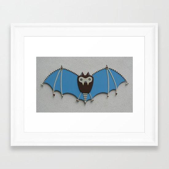 The bat! Framed Art Print