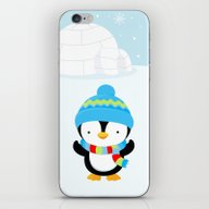 Cute Penguin Boy #1 iPhone & iPod Skin
