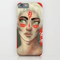 iPhone Cases featuring Naoise by Purple Enma Art