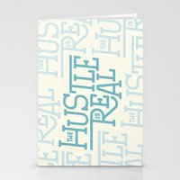 The Hustle is Real Stationery Cards