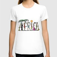 africa T-shirts featuring AFRICA by Anthony Mwangi