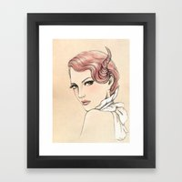 Costume Party 3 Framed Art Print