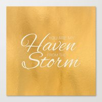Haven from the Storm Canvas Print