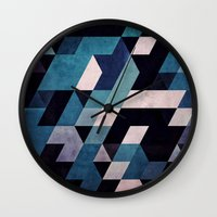 blux redux Wall Clock