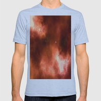 Nebula II Mens Fitted Tee Athletic Blue SMALL
