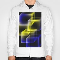 Yellow and blue squares. Hoody
