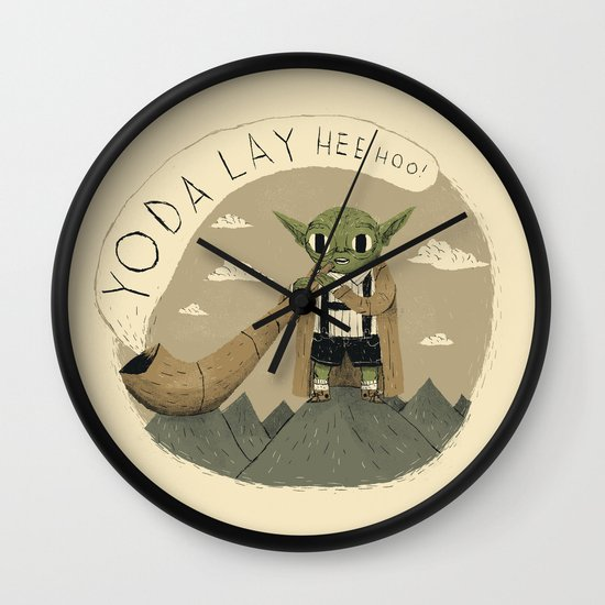 yodaling  Wall Clock
