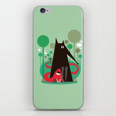 Red riding hood iPhone & iPod Skin