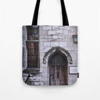 Lincoln Cathedral Refectory Door Tote Bag