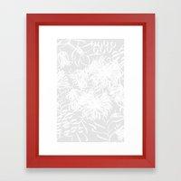 calm breezy Framed Art Print