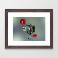Nightswim Framed Art Print