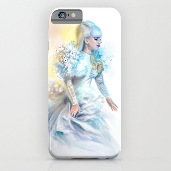Mother Monster in  white iPhone & iPod Case