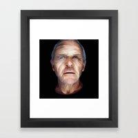 Anthony Hopkins Framed Art Print