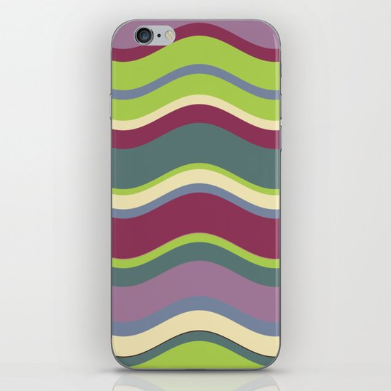 Lavender Shores iPhone & iPod Skin