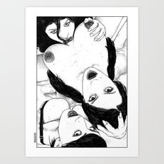asc 608 - Les exclus (The Bird's eye view) Art Print