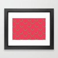 Fun Watermelons Pattern - Summer time Framed Art Print