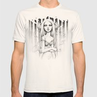 faun v2.0 Mens Fitted Tee Natural SMALL