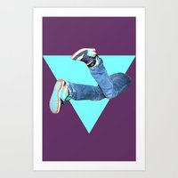 Pumped Up Kicks Art Print