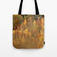 Trees On Box Hill Surrey Tote Bag