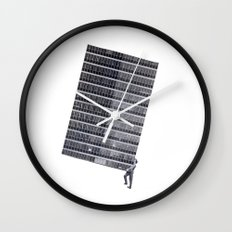 Weight Wall Clock