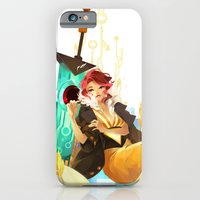 iPhone Cases featuring See You in the Country - Transistor by Stephanie Kao