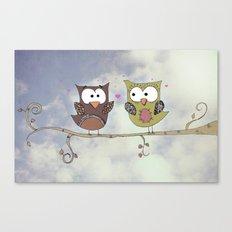Love Owlways Canvas Print