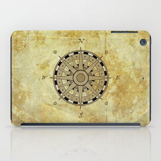 Compass Rose iPad Case