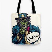 Brains Tote Bag