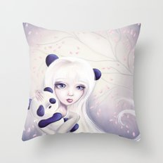 Panda: Protection Series Throw Pillow