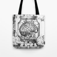 Mother Brain Super Metro… Tote Bag
