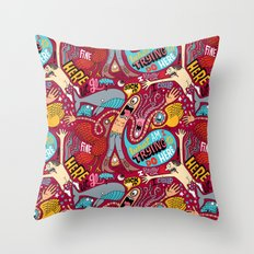 What am I Trying to do Here? Throw Pillow