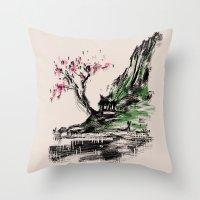 scenery Throw Pillow