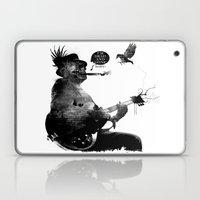 DEATH BLUES Laptop & iPad Skin