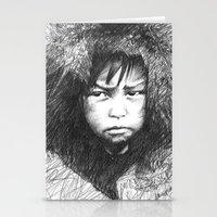 Inuit Boy Stationery Cards