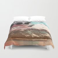 Mountainous Range Duvet Cover