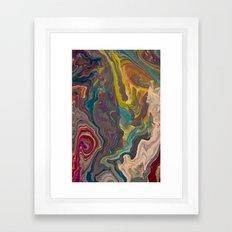 Agate Framed Art Print