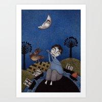Henry And Adele Art Print