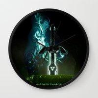 Savior of Hyrule Wall Clock