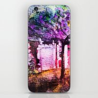 THE WATERCOLOR MAGIC HOUSE     FRENCH OLD HOUSE iPhone & iPod Skin