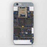 iPhone Guts iPhone & iPod Skin