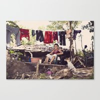 My Front Lawn Canvas Print